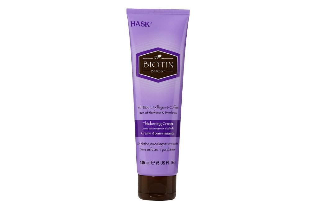 Hask Biotin Boost Thickening Cream for fine, low-density curls