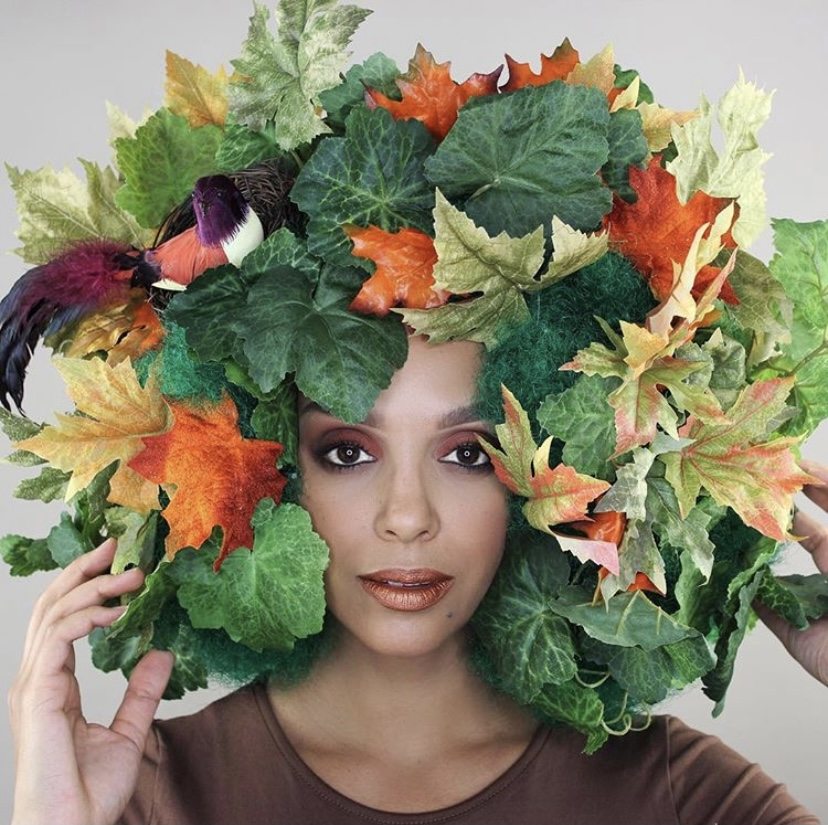 Tree of life curly halloween costume last minute halloween ideas for curly hair