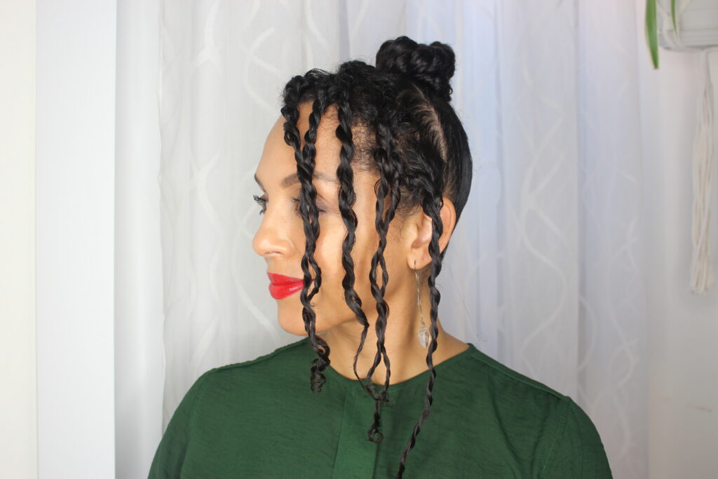 Holiday Curly Hairstyle