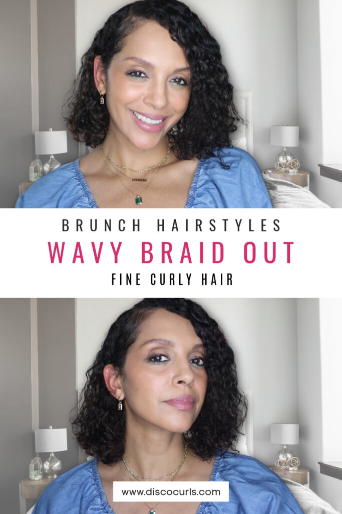 mothers day brunch hairstyle